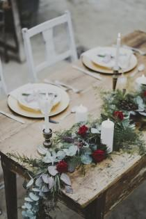 wedding photo - Secret Garden: Un matrimonio autunnale in serra