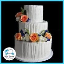 wedding photo - Buttercream Wedding Cake