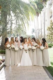 wedding photo - Ivory And Gold Winter Wedding
