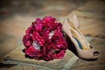 wedding photo - Victorian Bliss Bouquet