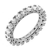 wedding photo - Vintage Diamond Wedding Band, Art Deco Diamond Eternity Ring, Art Deco Wedding Band, Womens Diamond Eternity Ring