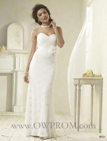 wedding photo - Alfred Angelo 8521 Wedding Dresses - OWPROM.com