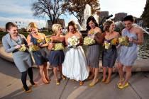 wedding photo - Bridesmaid Bouquet Clutches, Bouquet alternative, Bridesmaid Gift, Maid of Honor Gift, Bride and Bridesmaids Clutches