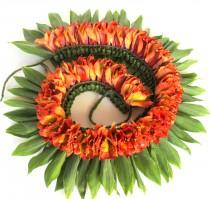 wedding photo - Hawaiian Leis Necklace Luau Beach Lei Flower Tropical Party