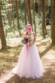 wedding photo - Once Upon a Dream: Bohemian Woodland Fairytale Wedding