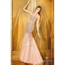 wedding photo - Alyce Paris Sheer Corset Prom Dress 6240 - Crazy Sale Bridal Dresses