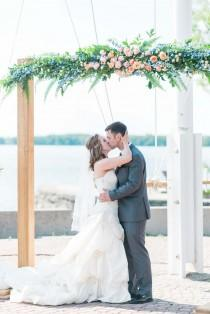 wedding photo - A Colourful DIY Yacht Club Wedding In Ottawa