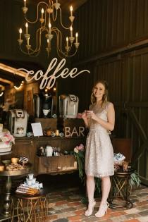 wedding photo - Wedding Ideas for Coffee-Lovers