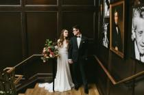 wedding photo - Modern Floral-Filled Wedding at Oxford Exchange in Florida