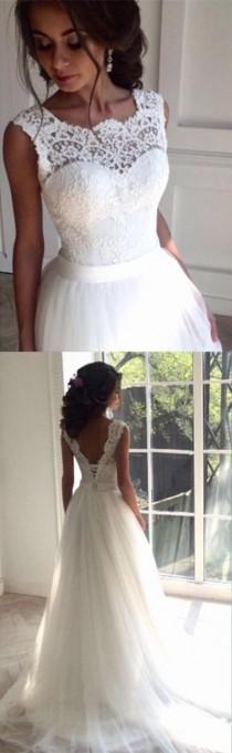 wedding photo - New Arrival Wedding Dress,Charming Wedding Dress, Lace Wedding Dress, Cheap Wedding Dress,cheap Wedding Gown,bridal Wedding Dress From Hiprom