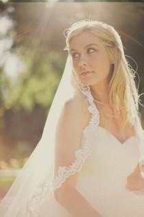 wedding photo - Mantilla Veil ,Lace Mantilla Veil ,Cathedral Veil, Chapel Mantilla Veil, Fingertip Mantilla Veil, Waist length Veil, Waltz Veil, Alexandra