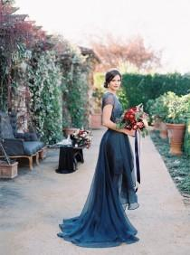 wedding photo - Jewel Tone Wedding In Wine Country