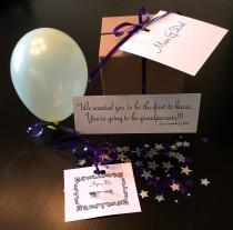 wedding photo - Balloon Pop Box – Message in a balloon – Ask Bridesmaid/Maid of Honor to be in wedding – Pregnancy Announcement – Gender Reveal – Prom Date