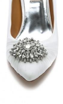wedding photo - Badgley Mischka Pegasus Point Toe Pumps