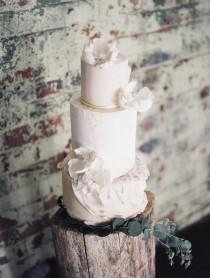 wedding photo - Industrial Ballet Wedding