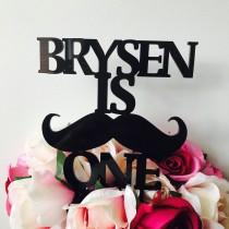 wedding photo - Mustache Cake Topper Personalised Moustache Cake Topper Birthday Moustache Cake Topper Cake Decoration Cake Decorating Mustache