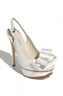 wedding photo - Vera Wang Footwear 'Zohar' Platform Slingback