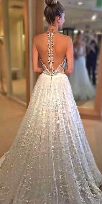 wedding photo - 21 Trend-Setting Tattoo Effect Wedding Dresses