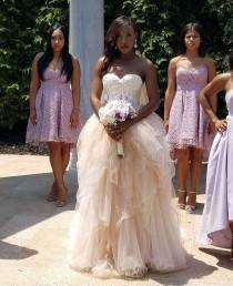 wedding photo - Amazing Wedding Tulle Skirt, Tulle Gown Skirt,  Layered Bridal Skirt, nude Wedding Skirt , Cream Tulle Skirt