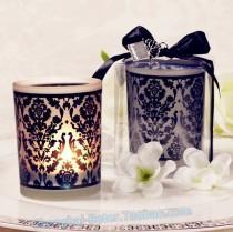 wedding photo - Beter Gifts® #浪漫主題 #小蠟燭 BETER-LZ016 #小燭臺 #七夕       皇家婚禮佈置小清新餐桌佈景