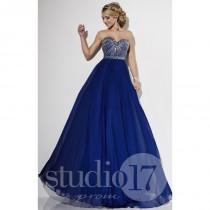 wedding photo - Fuchsia Studio 17 12555 - Chiffon Dress - Customize Your Prom Dress