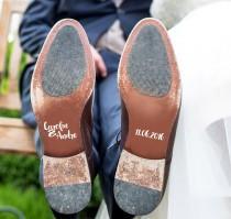 wedding photo - Sticker shoes wedding wedding shoes / bridal / groom