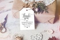wedding photo -  Thank You Tag - Wedding Printable - Wedding Favor Tag - Wedding Thank You Tags - Thank You Wedding - Downloadable wedding