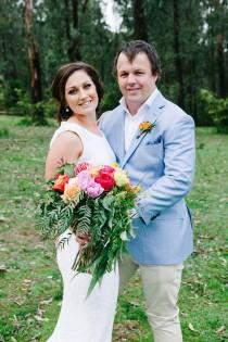 wedding photo - Bright Modern Country Wedding - Polka Dot Bride