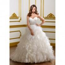 wedding photo - Mori Lee 1803 Strapless Ruffle Ball Gown Wedding Dress - Crazy Sale Bridal Dresses
