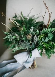 wedding photo - Stylish Casual Winter Wedding Shoot - Weddingomania
