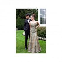 wedding photo - CM Couture 1202 - Burgundy Evening Dresses