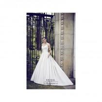 wedding photo - Paloma Blanca 4562 - Burgundy Evening Dresses