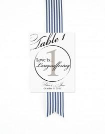 wedding photo - 1 Corinthians 13 Script Table Numbers Christian Wedding