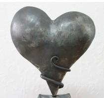 wedding photo - Iron Anniversary gift Heart Sculpture, Personalized 6th anniversary Iron anniversary gifts, 6th Wedding Anniversary, iron gift for couples
