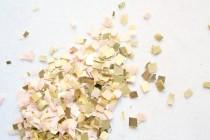 wedding photo - Blush Gold Nude and Champagne Confetti, Wedding Table decor, Party Decoration, Biodegradable Confetti Toss, Baby Shower Decor