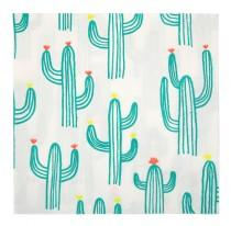 "wedding photo - Cactus Napkins (20), Meri Meri Cactus Print Party Supply, Cinco de Mayo Party Decor, Desert Wedding, Fiesta Birthday, 13"" Napkin, Southwest"