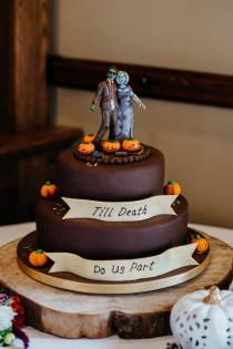 wedding photo - Halloween Harvest Festival Wedding