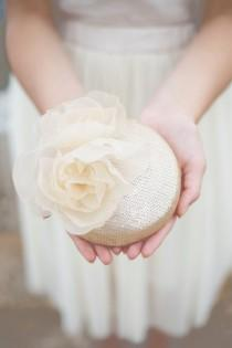 wedding photo - Pale Gold Sequins Millinery Hat, Bridal Silk Peony Hat, Millinery Flower Hat