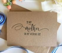 wedding photo - Mom's my BFF: Should I have my mom as maid of honor?