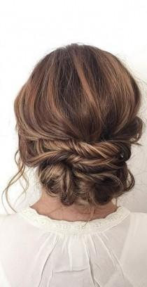 wedding photo - Gallery: Bridal Updo Wedding Hair