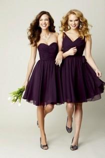 wedding photo - Purple Dress