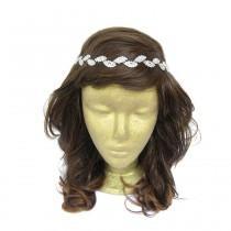 wedding photo - Leaves Headband, Flower Girl Rhinestone Headband Headpiece, Leaf Rhinestone Headpiece, Wedding Headband, Prom Hair Accessories, Tiara, Mom
