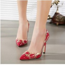 wedding photo - High Heels Women Wedding Shoes Pumps For 2015 On Platform Bottom Pumps