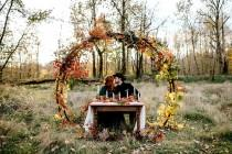 wedding photo - Wild + Free Autumn Elopement Inspiration