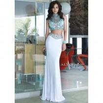 wedding photo - Alyce 6372 Jeweled Stones Two Piece Dress - 2017 Spring Trends Dresses