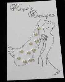 wedding photo - Bridal Wedding Veil Weights 10 Swarovski (White) Crystal Pearls Wedding Bridal Veil Weights Double Sided Color (White)
