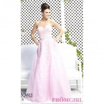 wedding photo - Tony Bowls Strapless Sweetheart Prom Dress - Brand Prom Dresses