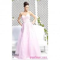 wedding photo - Tony Bowls Strapless Sweetheart Prom Dress - Brand Prom Dresses