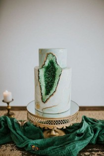 wedding photo - 5 Ways To Rock The Agate Trend In Your Wedding