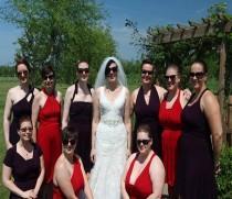 wedding photo - Purple Infinity Dress - floor length   wrap dress +55colors